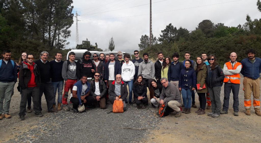 Estudiantes de la Universidad de Huelva - Proxecto Touro